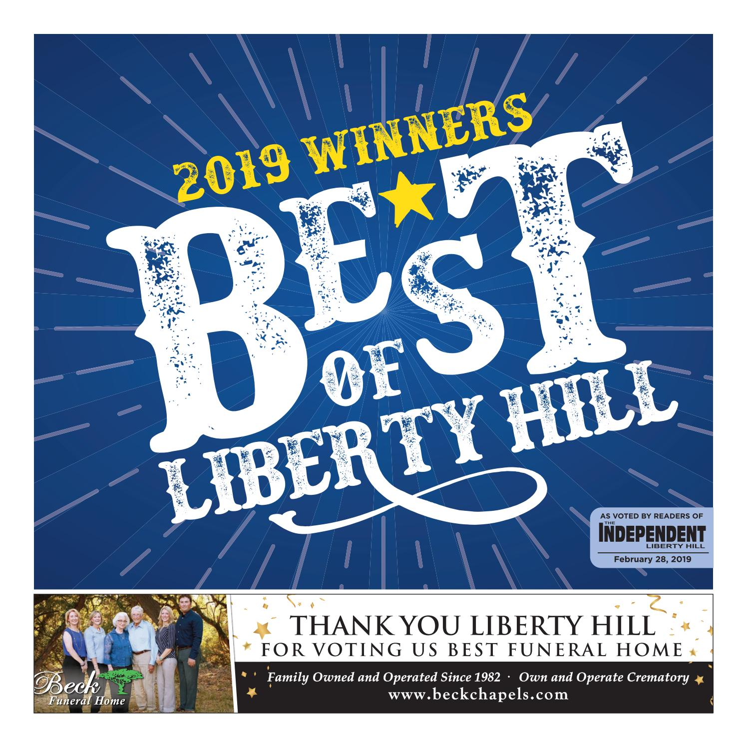 Best of Liberty Hill 2019 by lhindependent - issuu