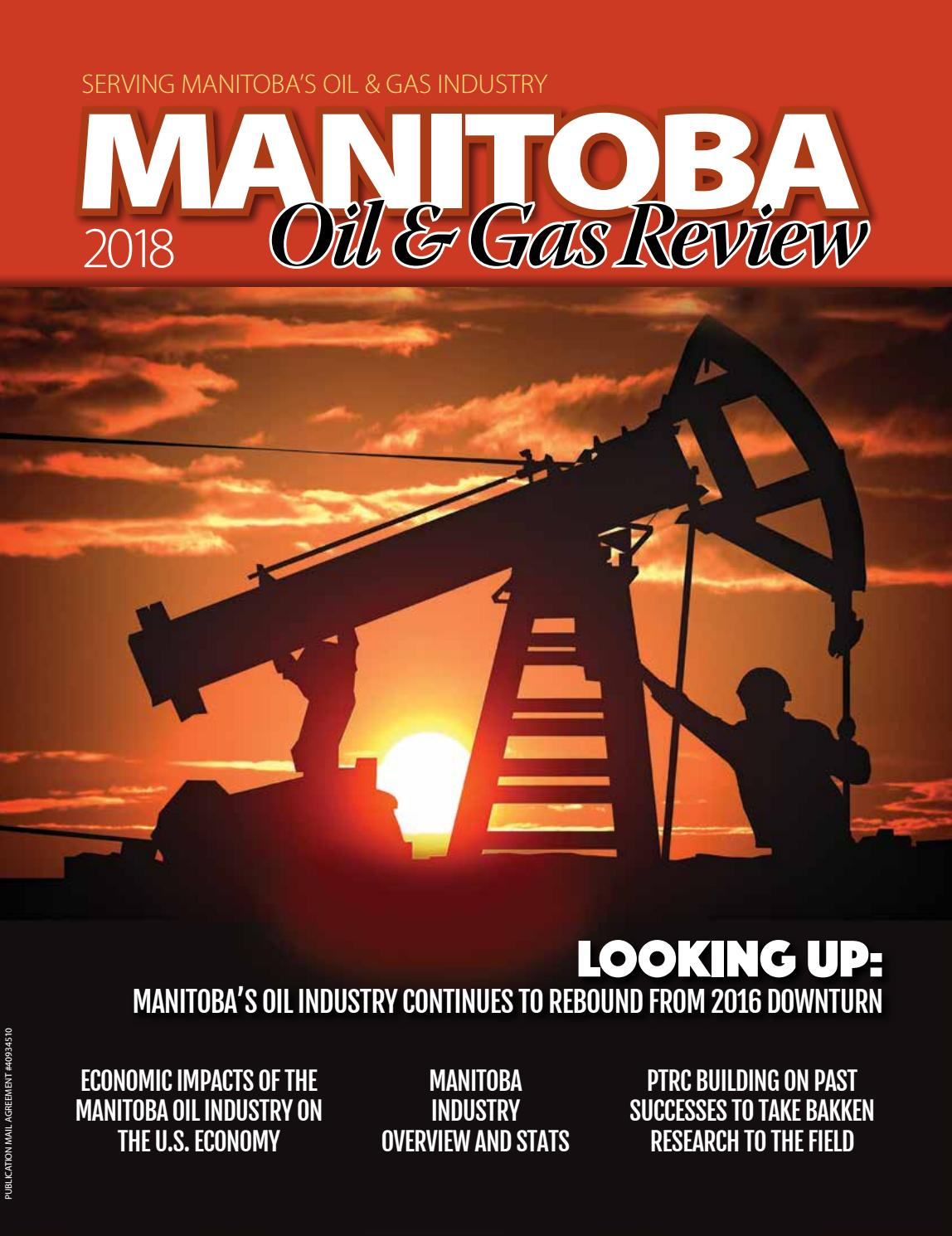 Manitoba Oil & Gas Review 2018 by DEL Communications Inc  - issuu