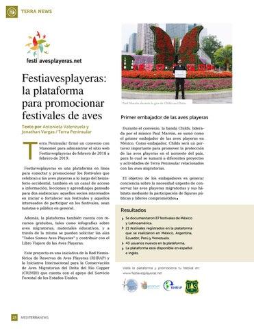Page 26 of Festiavesplayeras: la plataforma para promocionar festivales de aves