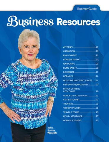 Page 19 of Business Resources Section