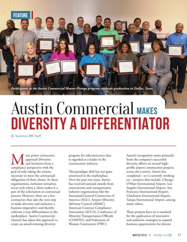 Page 13 of Austin Commercial Makes Diversity a Differentiator