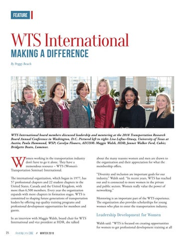 Page 18 of WTS International Making a Difference