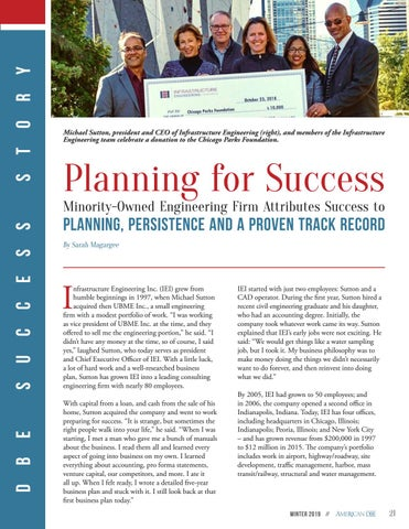 Page 21 of Infrastructure Engineering - Planning for Success
