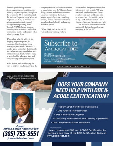 Page 24 of Current Issues Facing the DBE Program
