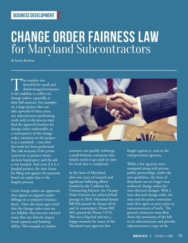 Page 39 of Change Order Fairness for Maryland Contractors
