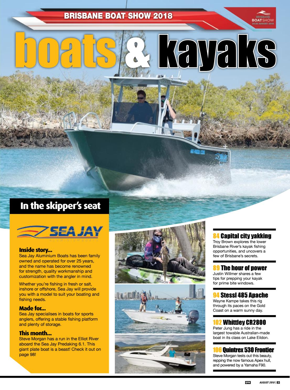 Brisbane Boat Show 2018 by Fishing Monthly - issuu