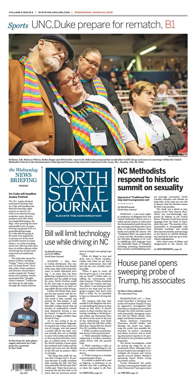 North State Journal Vol  4, Issue 2 by North State Journal