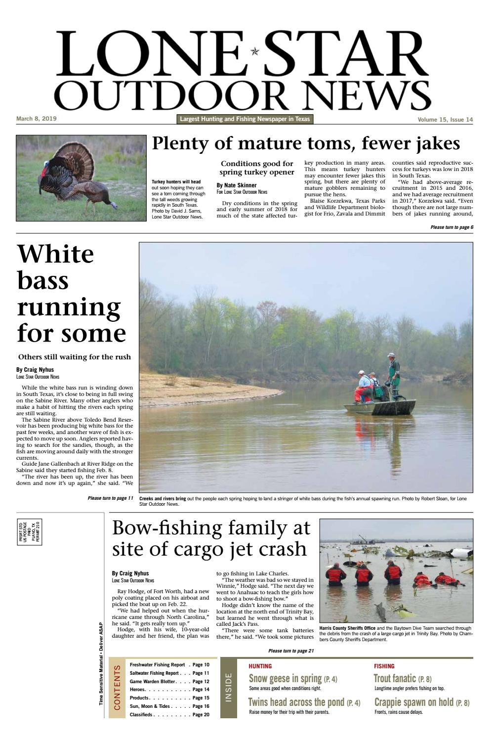 aa34a7bbed March 8, 2019 - Lone Star Outdoor News - Fishing & Hunting by Craig ...