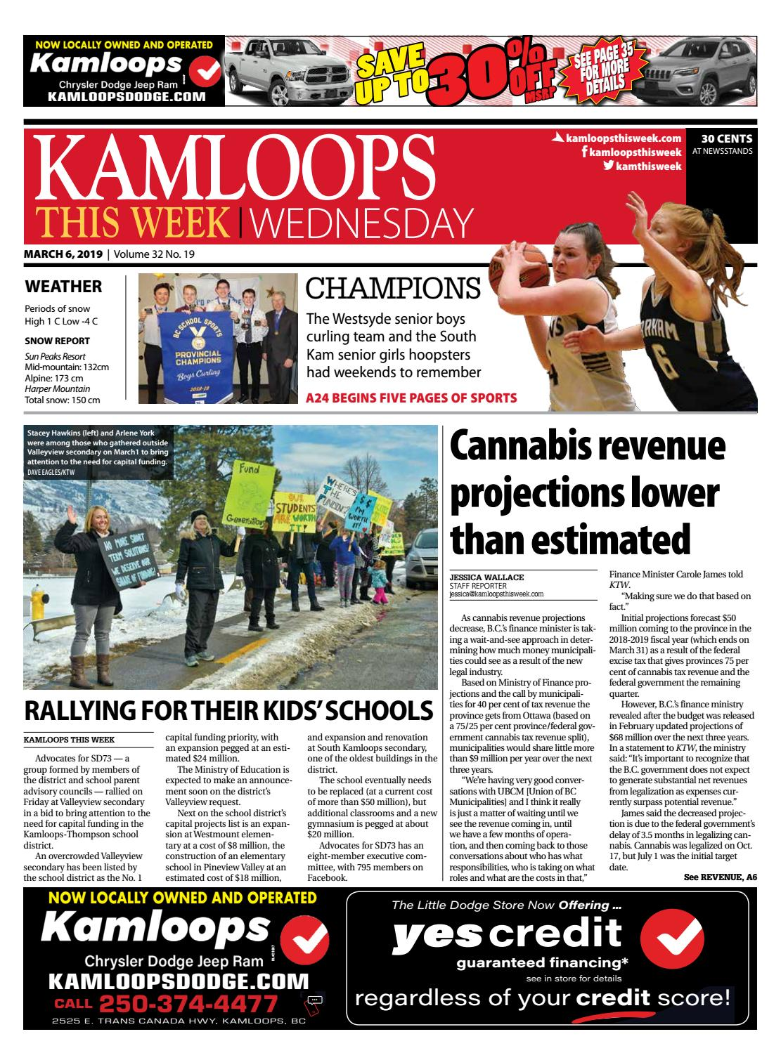 Kamloops This Week March 6 2019 By KamloopsThisWeek