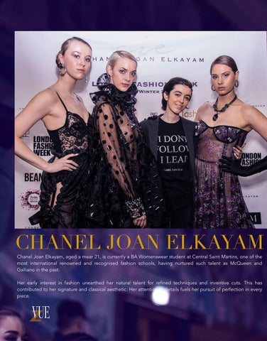 Page 4 of London Fashion Weekclothing is: Chanel Joan Elkayam Head of hair: Andrew Joseph Manion Head of Makeup: Charlotte Marie Cardwell Head of Nails: Sue Gray