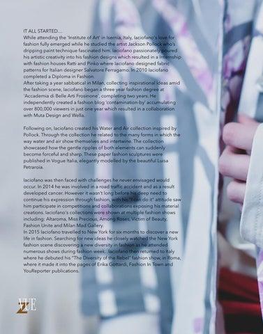 Page 52 of IT ALL STARTED… Giuseppe Iaciofano #LFW
