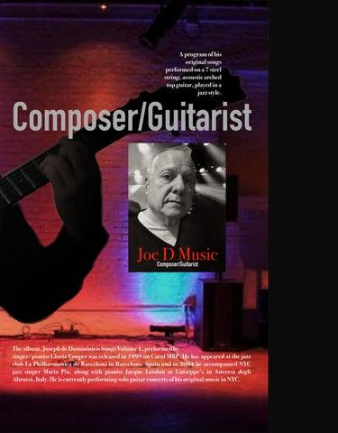 Page 63 of Composer/Guitarist Joe D In Concert