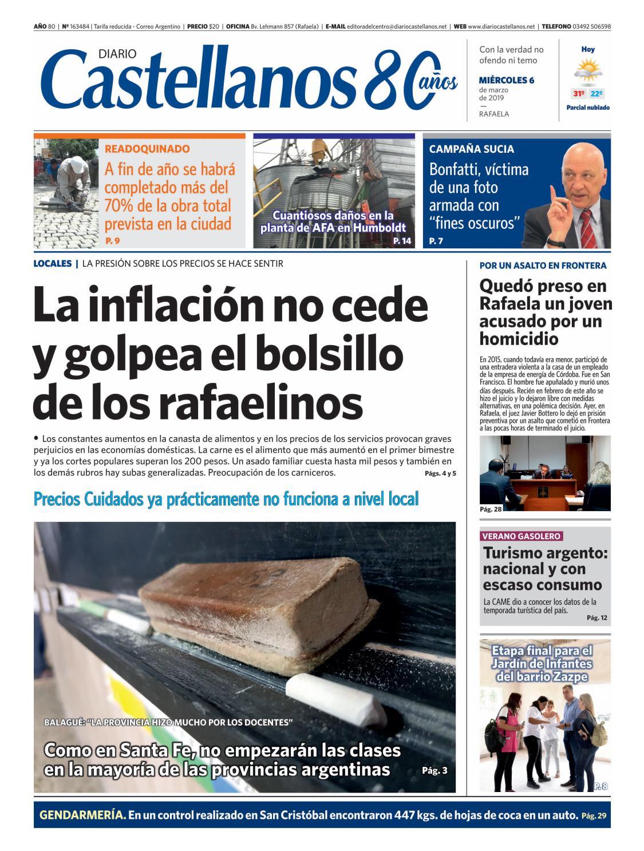 Diario Castellanos 06 03 19 by Diario Castellanos - issuu ebb99773193