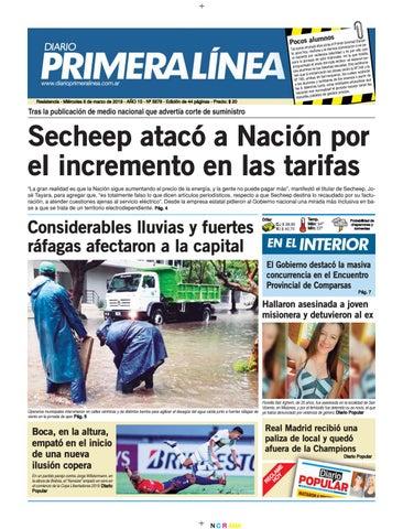 size 40 22f15 5b610 Primera Línea 5878 06-03-19 by Diario Primera Linea - issuu