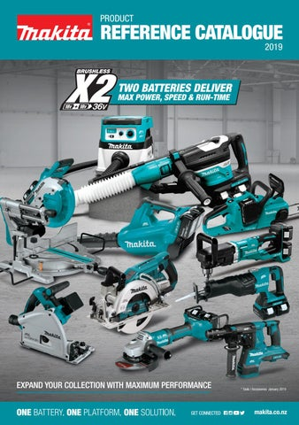 Makita Product Reference Catalogue 2019 Vol01 By Makita New