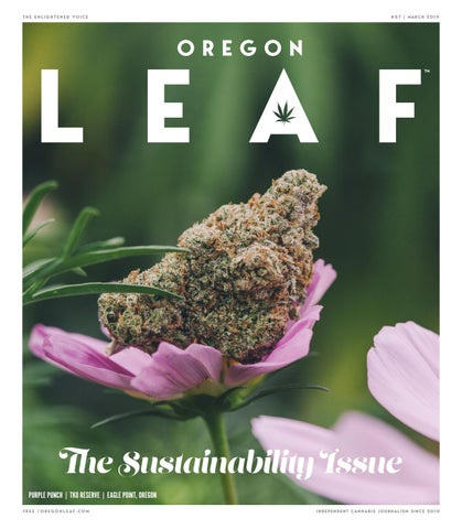 March 2019 - Oregon Leaf by Northwest Leaf / Oregon Leaf / Alaska