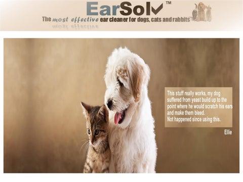 Dog Ear Cleaner by earsolvonline - issuu