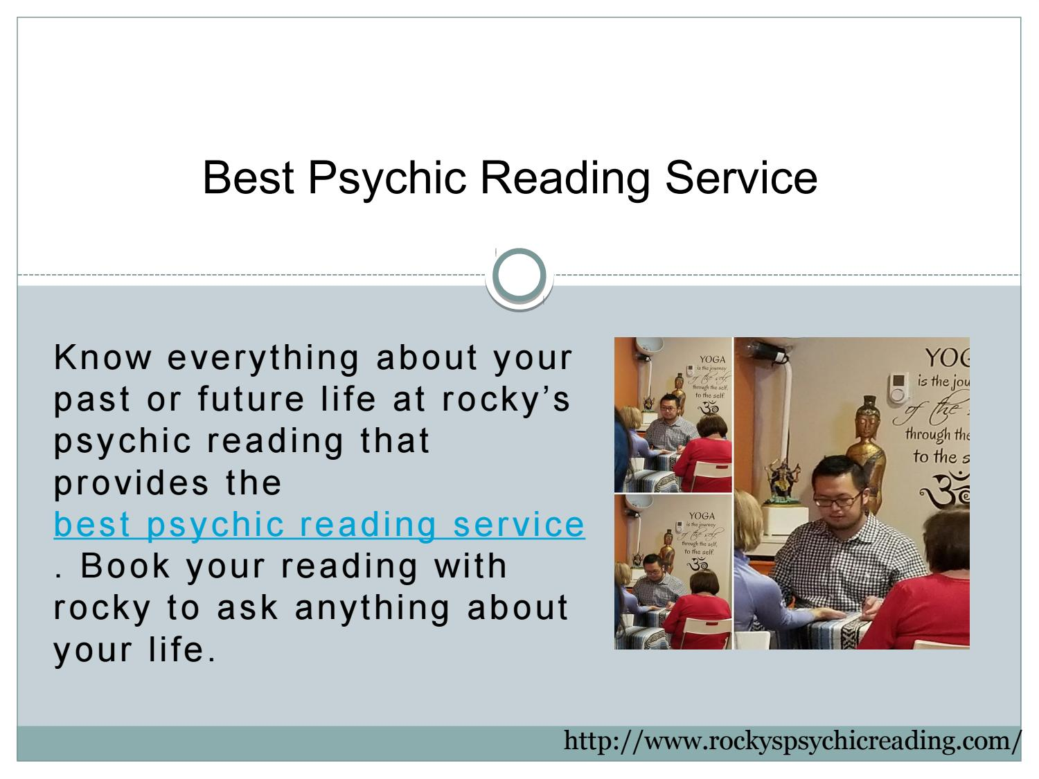 Psychic Reading Service by Rocky's Psychic Reading - issuu