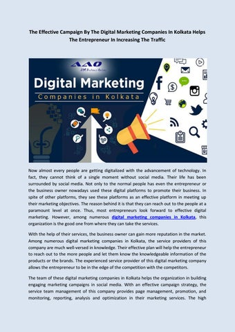 The Effective Campaign By The Digital Marketing Companies In
