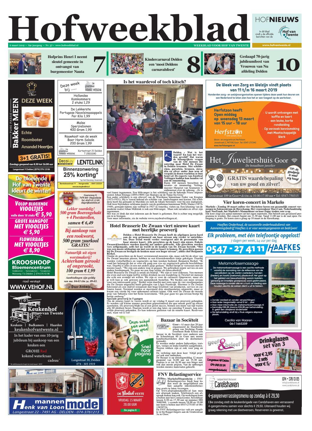 602bd1d0ea9 Hofweekblad week 10-19 by Regionale Uitgeversgroep - issuu