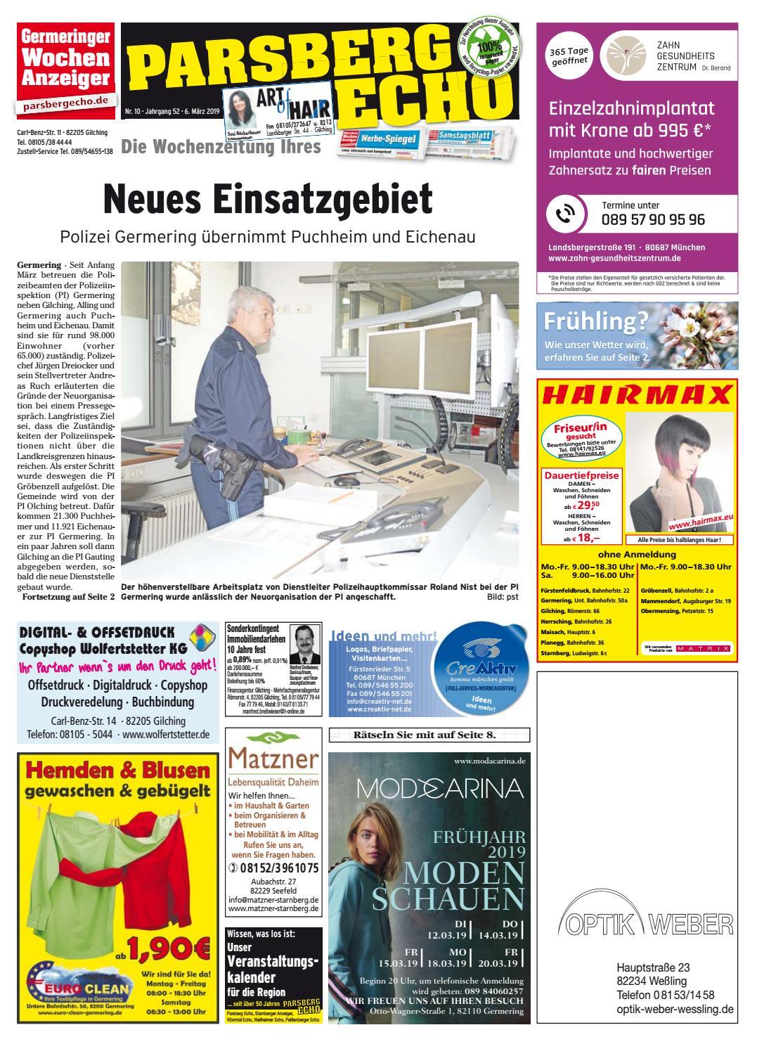 25458e6c2aac55 KW 10-2019 by Wochenanzeiger Medien GmbH - issuu