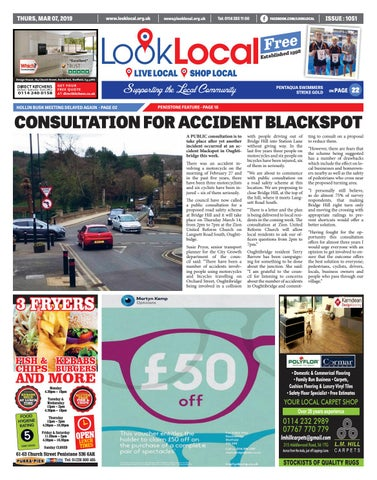 Issue 1051 Thursday 7 March 2019 by Look Local Newspaper - issuu