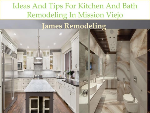Ideas And Tips For Kitchen And Bath Remodeling In Mission ...