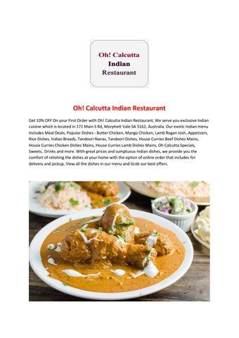 calcutta curry house deals