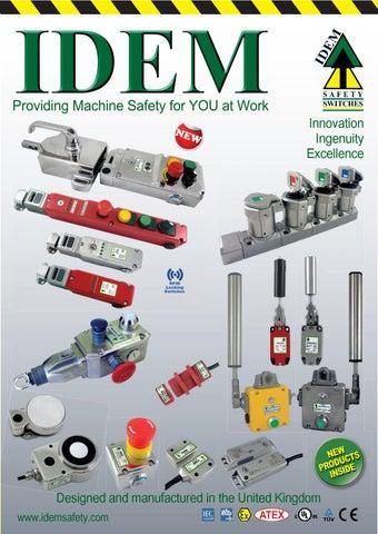 fe58251f1d IDEM Safety Switches Shortform 2019 by Dave - issuu