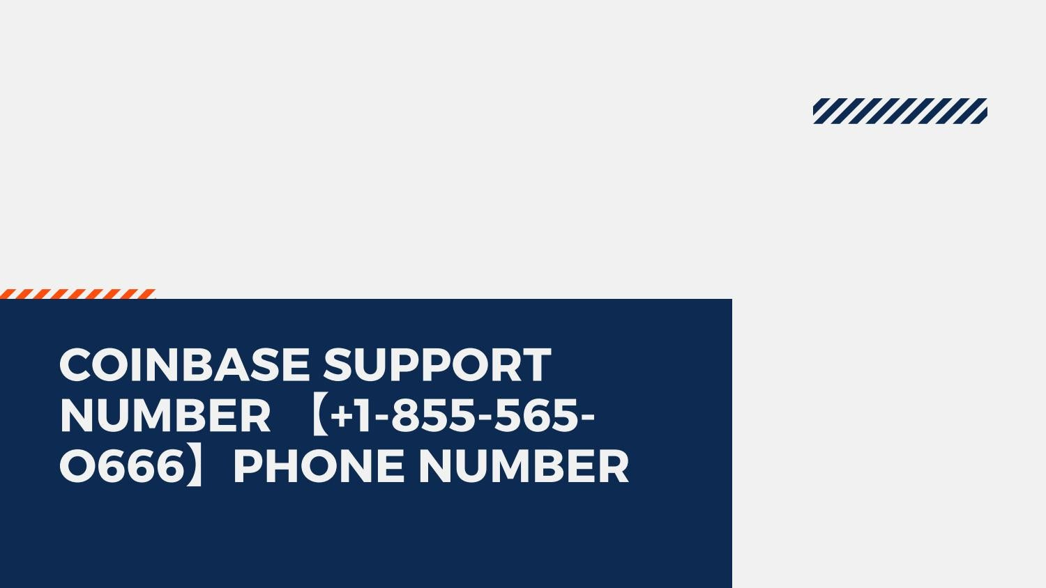 coinbase support phone number