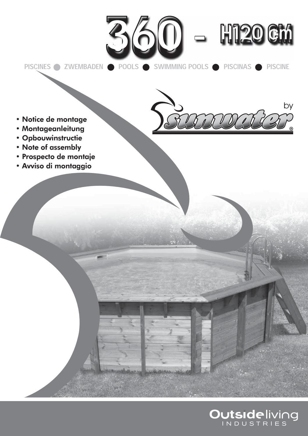 Piscine En Inox Steel And Style notice 360 - h120-2018_1 k.pdf____ - issuu