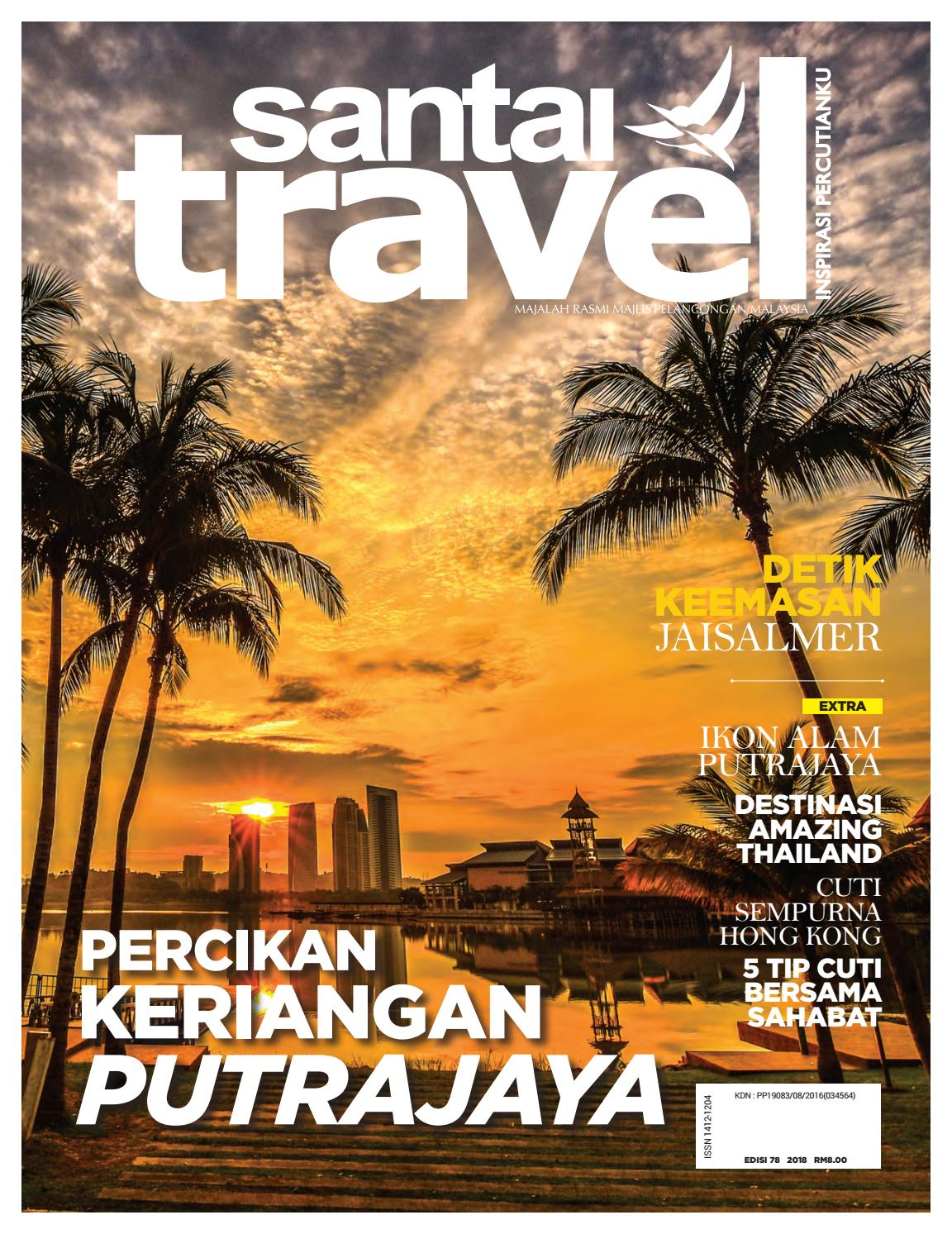 Santai Travel Magazine By Santai Design Enterprise Issuu