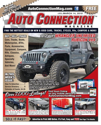 03-14-19 Auto Connection Magazine by Auto Locator and Auto
