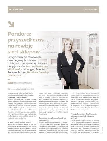 Page 54 of Pandora: przyszedł czas na rewizję sieci sklepów
