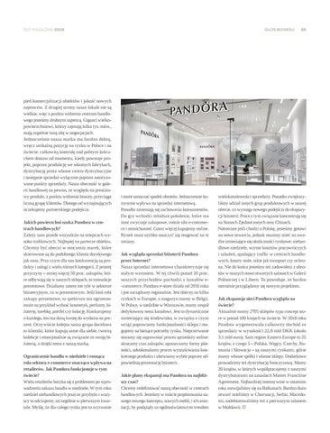 Page 55 of Pandora: przyszedł czas na rewizję sieci sklepów