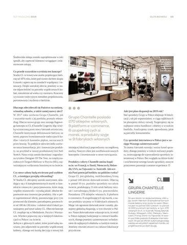 Page 59 of Grupa Chantelle rozwija flagowy koncept marki