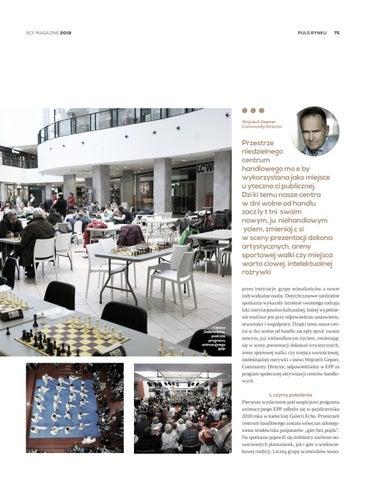 Page 75 of EPP: Galerie (nie)handlowe jako centra aktywności społecznej
