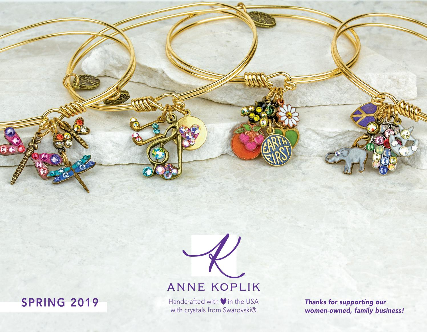 Anne Koplik Designs Jewelry Spring 2019