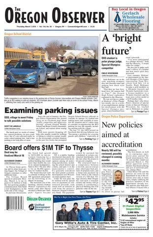 3/7/19 Oregon Observer by Woodward Community Media - issuu