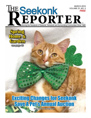 bc1cf6c7d844 March 2019 Seekonk Reporter by Dick Georgia - issuu