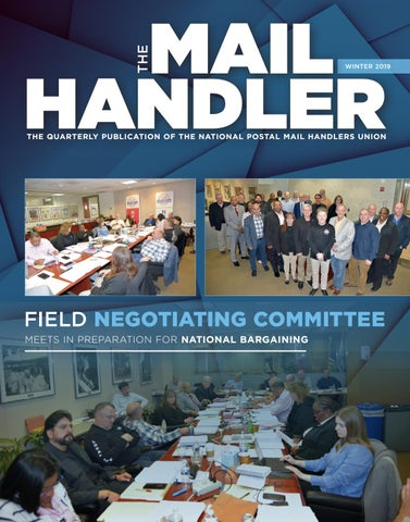 The Mail Handler Magazine Winter 2019 by National Postal
