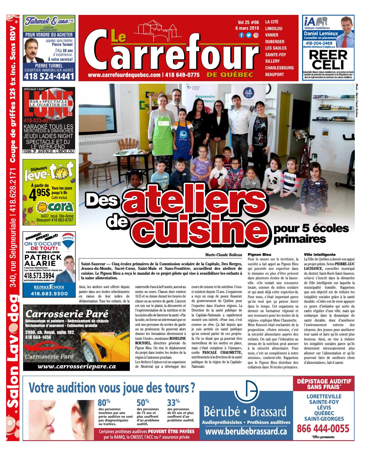 Le Carrefour du 20 mars by redaction - issuu