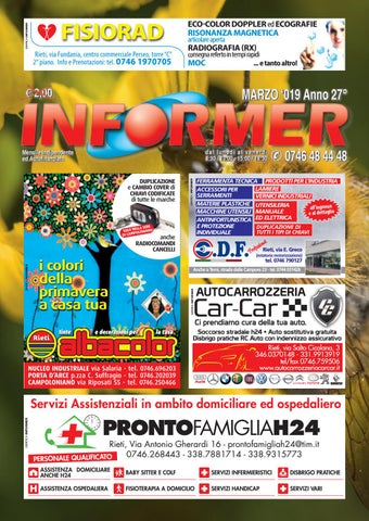 new product 1e025 16908 INFORMER marzo 2019 by informer - issuu