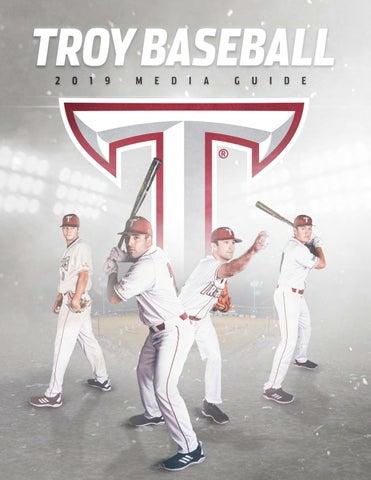 2019 Troy Baseball Media Guide by Troy University Athletics