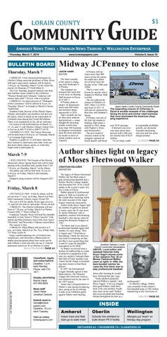4428297e00af Lorain County Community Guide - March 7