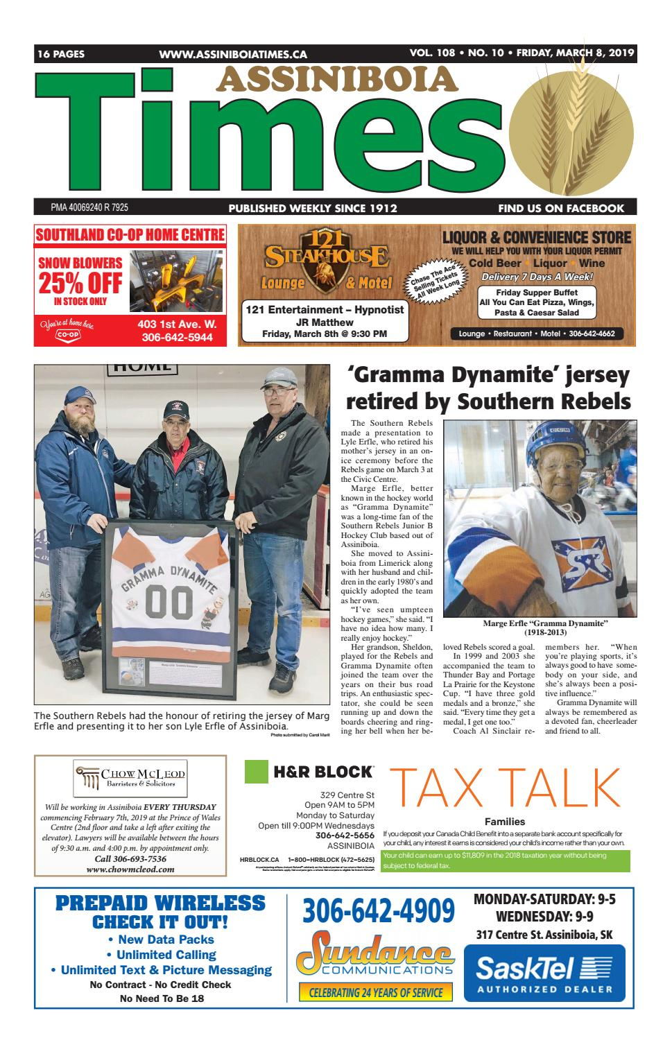 Assiniboia Times, March 8 by Assiniboia Times - issuu