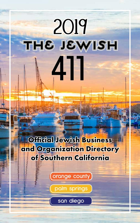 Jewish 411 2019 by San Diego Jewish Journal - issuu