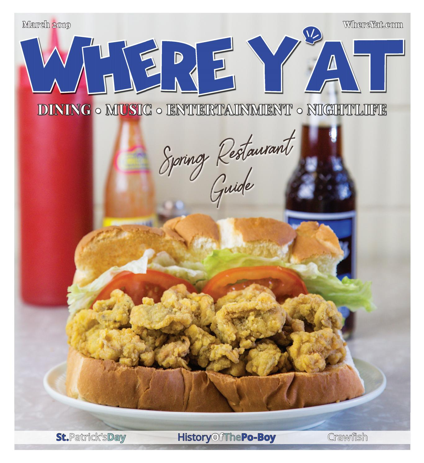 Spring Restaurant Guide March 2019 By Where Yat Magazine