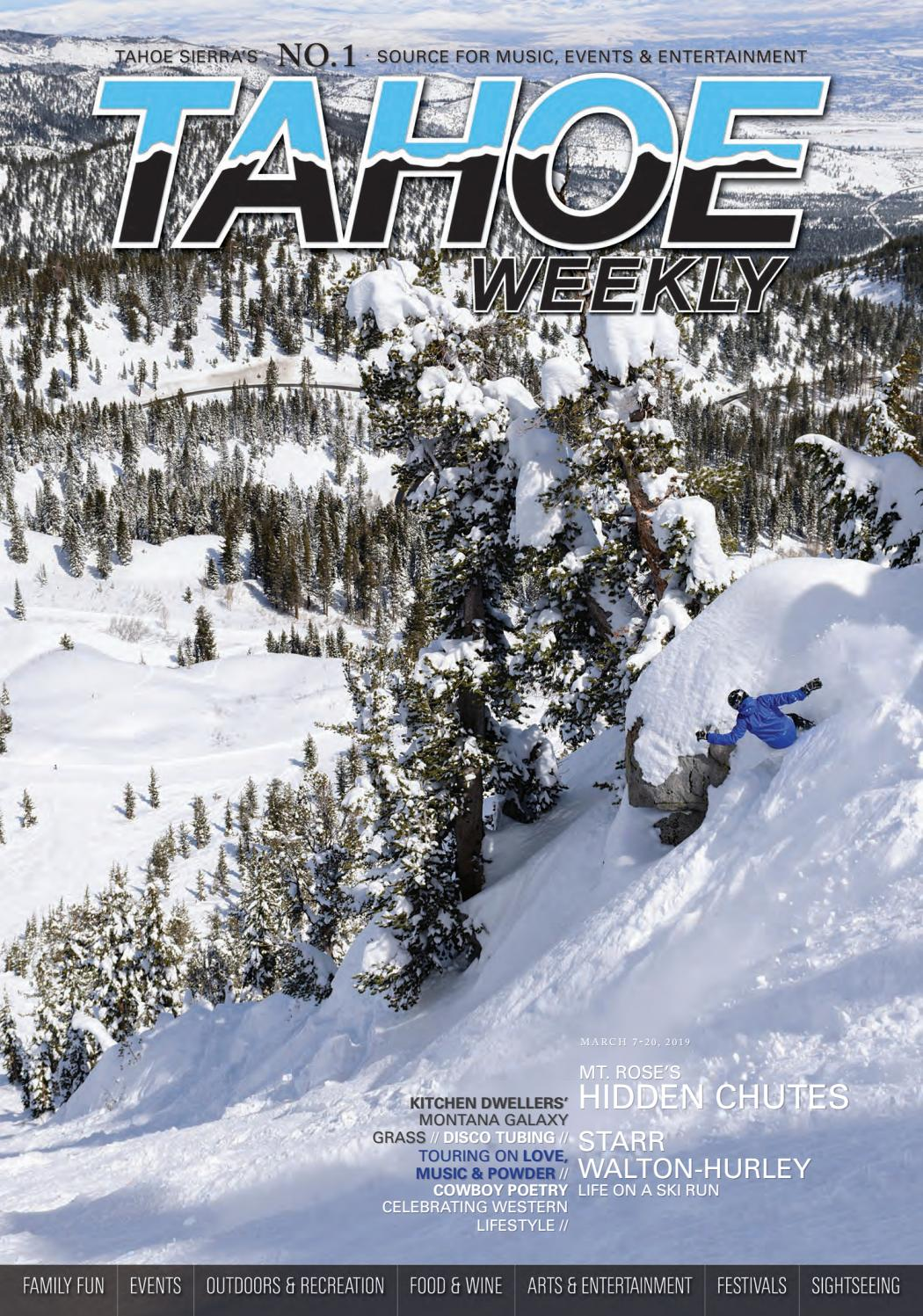 March 7 to 20, 2019 by Tahoe Weekly - issuu