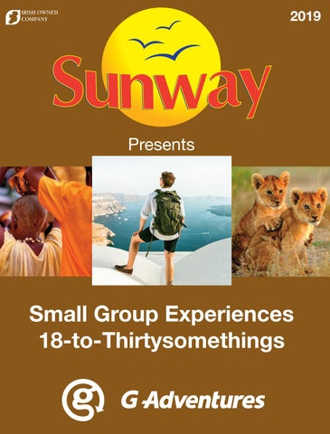 G Adventure - Small Group Experiences 18-to-Thirtysomethings by